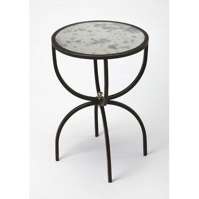 Taraska Metal and Mirror End Table