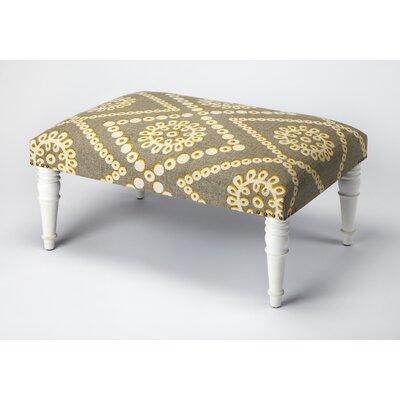 Willia Ottoman Upholstery: White