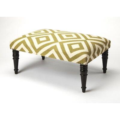 Willia Ottoman Upholstery: Beige Diamond