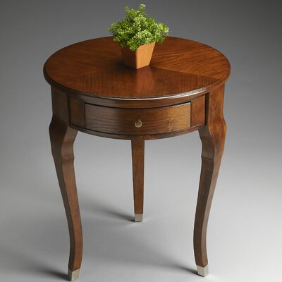 Cheap Butler Loft Side Table in Distressed Chestnut Burl (BTL2905)