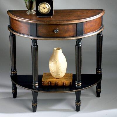 Artist's Originals Demilune Console Table