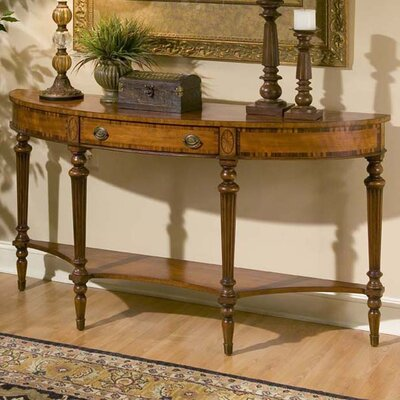 Connoisseurs Demilune Console Table