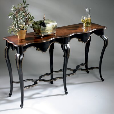 Wentworth Console Table Finish: Cafe Noir