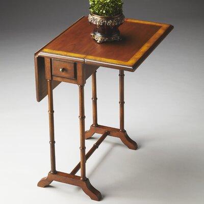 Masterpiece Console Table Finish: Olive Ash Burl