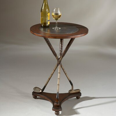 Heritage Golf Round End Table
