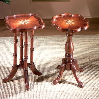 Plantation Oval Scatter End Table