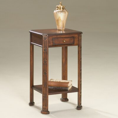 Moyer End Table Color: Plantation Cherry