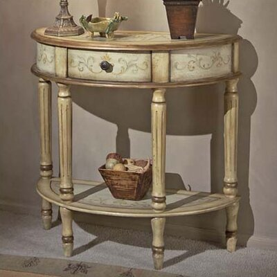 Cheap Butler Artist's Originals Demilune Console Table in Tuscan Cream (BTL1345)