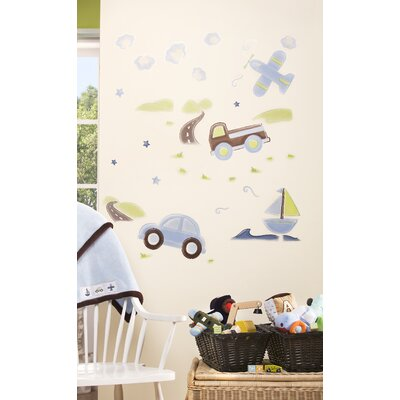 Mosaic Transport Wall Decals