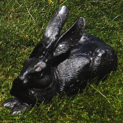 Rabbits Statue Color: Charcoal