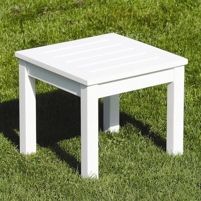 Side Table Finish: White Enamel