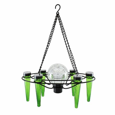 Demi 6-Light Mini Chandelier Bulb Color: Dark Green