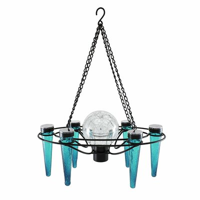 Demi 6-Light Mini Chandelier Bulb Color: Emerald Green