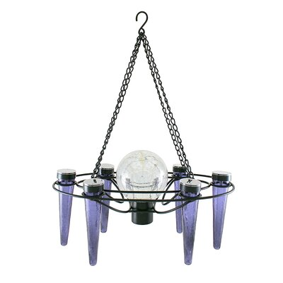 Demi 6-Light Mini Chandelier Bulb Color: Light Blue
