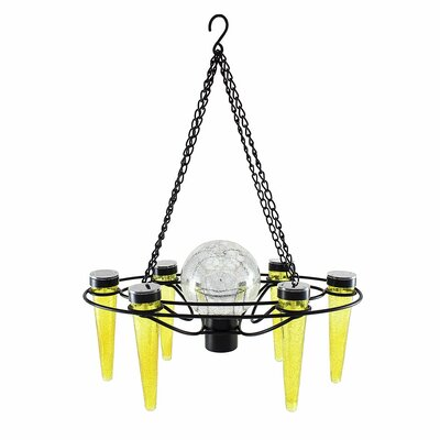 Demi 6-Light Mini Chandelier Bulb Color: Yellow