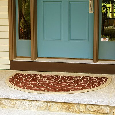 Filigree Half Round Doormat
