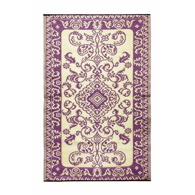 Tracery Kitchen Mat Color: Violet