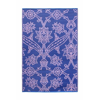 Flowers Kitchen Mat Color: Lavender