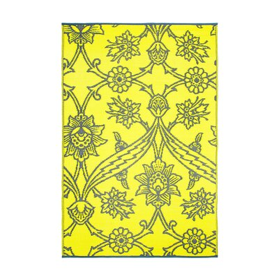 Flowers Kitchen Mat Color: Slate