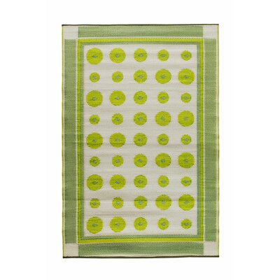 Dots Doormat Color: Plantain