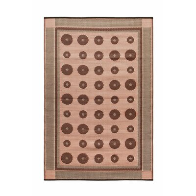 Dots Doormat Color: Spice