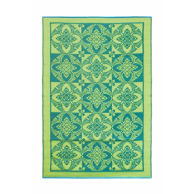 Primrose Kitchen Mat Color: Green Apple