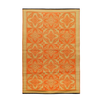 Primrose Kitchen Mat Color: Saffron
