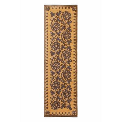Cinquefoil Doormat Color: Cinnamon