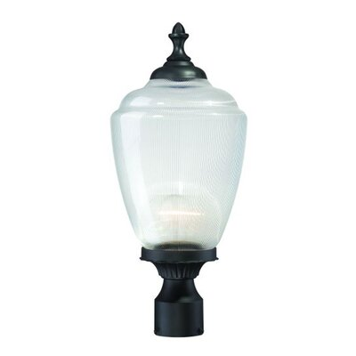 Acorn Outdoor 1-Light Lantern Head Shade Type: Clear Prismatic