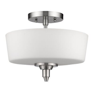 Vangundy 2-Light Semi Flush Mount