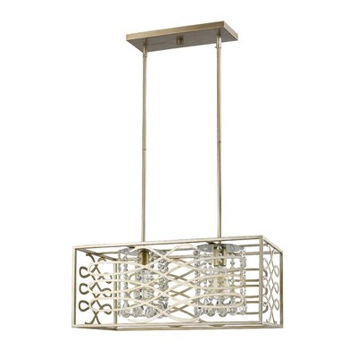 Brax 2-Light Kitchen Island Pendant