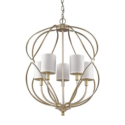 Kinsey 5-Light Foyer Pendant