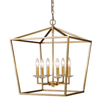 Rancourt 6-Light Foyer Pendant