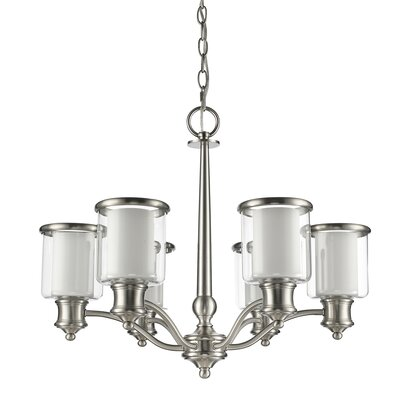 Giuliana 6-Light Shaded Chandelier