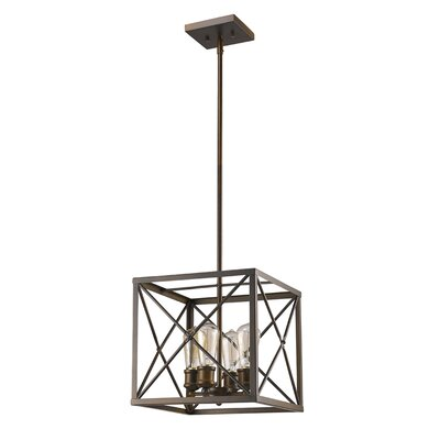 Brooklyn 4-Light Foyer Pendant