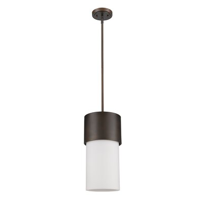 Mckellar 1-Light Mini Pendant Finish: Oil Rubbed Bronze
