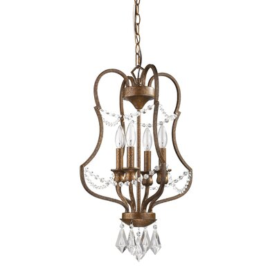 Karas 4-Light Foyer Pendant