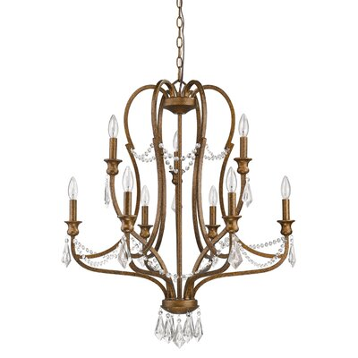 Karas 9-Light Crystal Chandelier