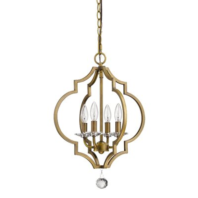 Lipsey 4-Light Foyer Pendant