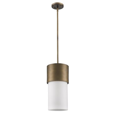 Midtown 1-Light Mini Pendant Finish: Raw Brass