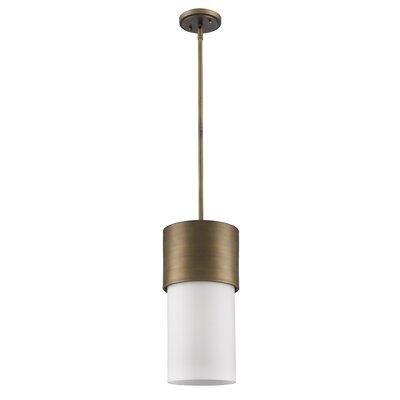 Mckellar 1-Light Mini Pendant Finish: Raw Brass