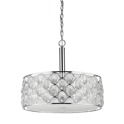 Isabella 4-Light Drum Pendant