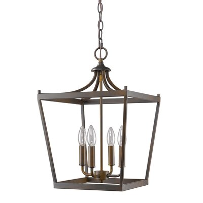Rancourt 4-Light Foyer Pendant