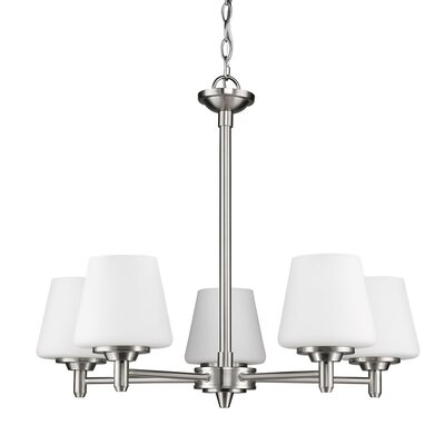 Paige 5-Light Shaded Chandelier