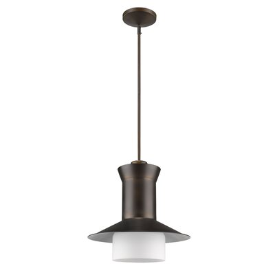 Chew Stoke 1-Light Mini Pendant Base Finish: Oil Rubbed Bronze
