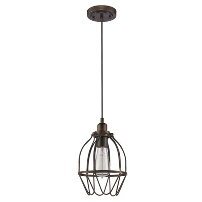 Finigan 1-Light Foyer Pendant
