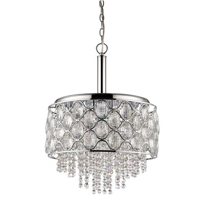 Keifer 6-Light Drum Pendant