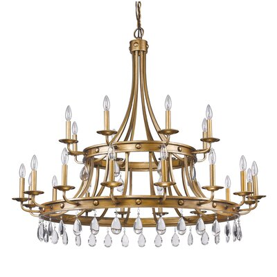 Krista 24-Light Candle-Style Chandelier