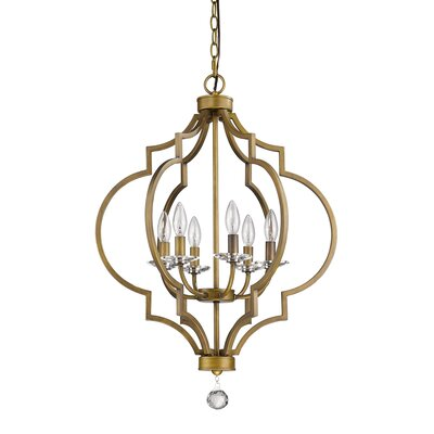 Peyton 6-Light Foyer Pendant