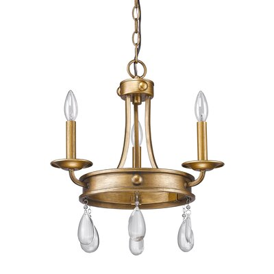 Krista 3-Light Candle-Style Chandelier